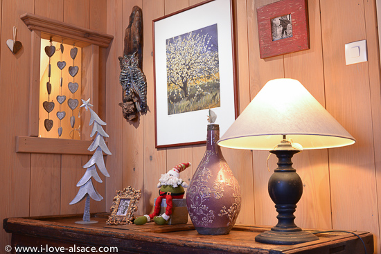 The Mountain Hiker is a beautiful gite - holiday apartment - decorated with antique furniture, wood panelling, old pictures and souvenirs from the first owner who built the house in the years 1930's.